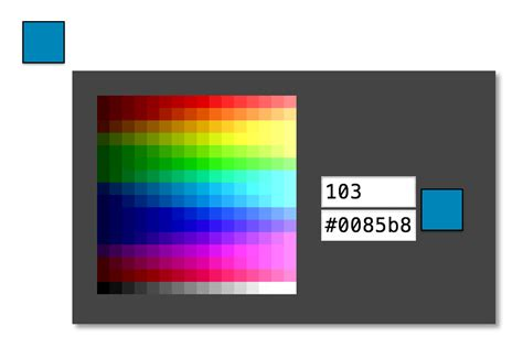 color scheme selector github bilalq eight bit color picker color picker for