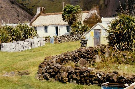 thatched cottage tristan da cunha island photo beau w
