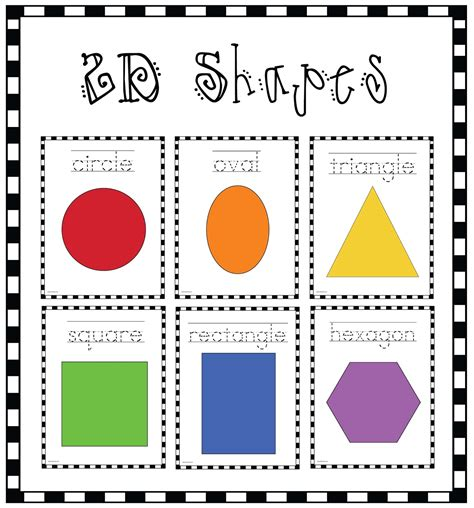 printable 2d shapes poster 2d shapes games grade 2 sorting 2d shapes by