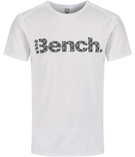 bench shirts for bench white pilfer logo crew neck regular fit t shirt