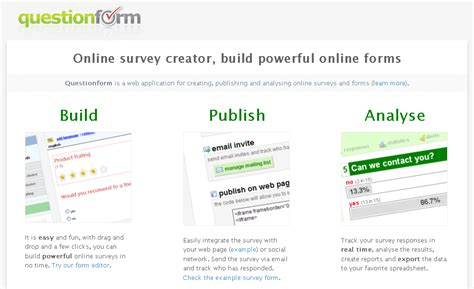 Create Online Survey Form - top 15 online survey software tool and questionnaire