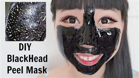 blackhead mask diy diy blackhead peel mask mask for glowing skin 2 methods