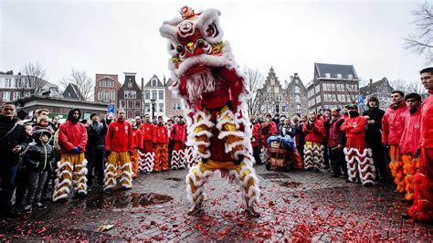 lunar new year and lunar new year celebrated around the world with food