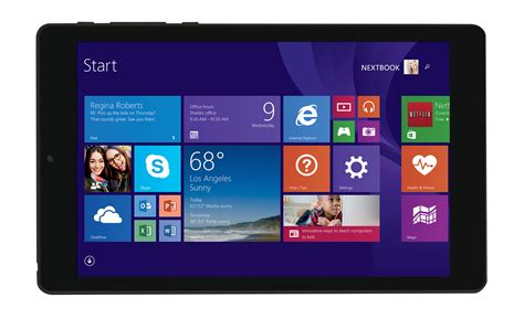 sale 8 188 inch 99 8 inch nextbook tablet with windows available on black