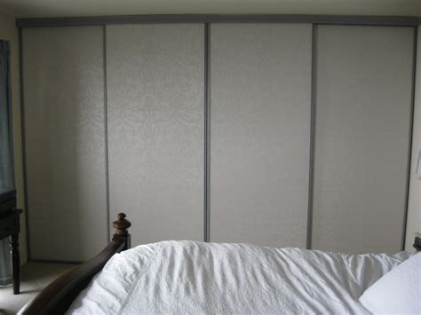 Wallpaper Closet Doors by Redesign Bedroom Carriedmader