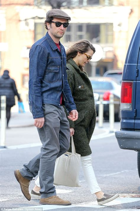 matthew rhys baby keri russell flashes her large baby bump as she heads out
