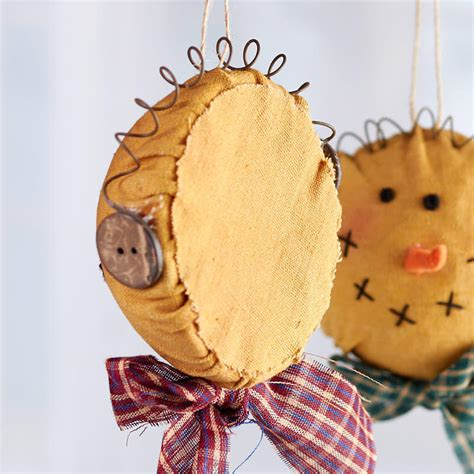 primitive snowman head ornament christmas ornaments