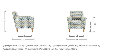 accent chairs with short seat depth copenhagen fabric accent armchair furniture village