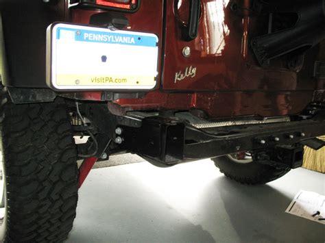 Jeep Rear Bumper Removal Mopar Jeep Wrangler Jk Bumper Installation Part 2