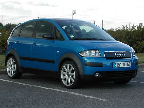 Audi A2 1 2 by Audi A2 1 2 Tdi Technical Details History Photos On