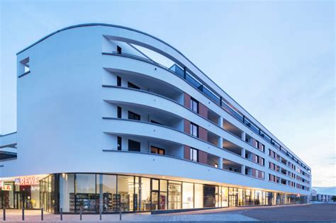 wohnungen offenbach hafen hoechstetter und partner architekten architekturb 252 ro in