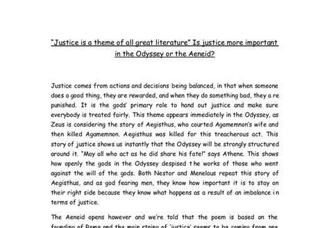 themes of justice in literature quot justice is a theme of all great literature quot is justice