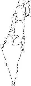 Free Outline Map Of Israel by File Israel Districts Blank Png Wikimedia Commons