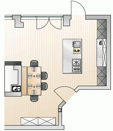 wohnzimmer 4x4 meter k 252 chenformen und k 252 chengrundrisse vorteile und nachteile
