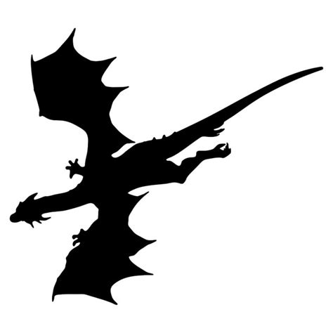 flying dragon silhouette www pixshark com images