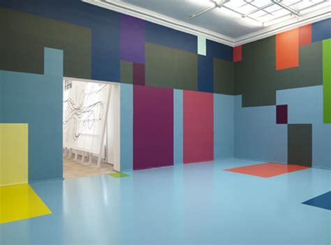 colored wall the beginnings of a designer