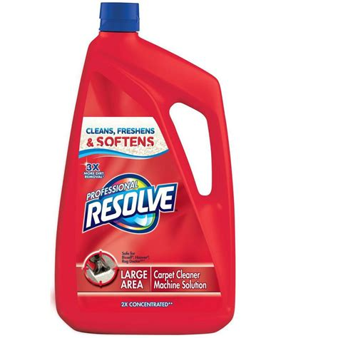 resolve 96 oz steam carpet cleaning solution 19200 89973