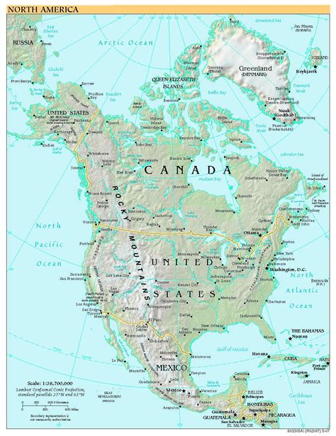 america map high quality free high resolution map of america