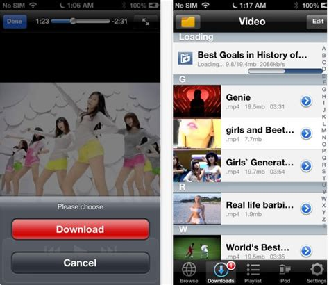 best vid 5 best downloading apps for iphone free