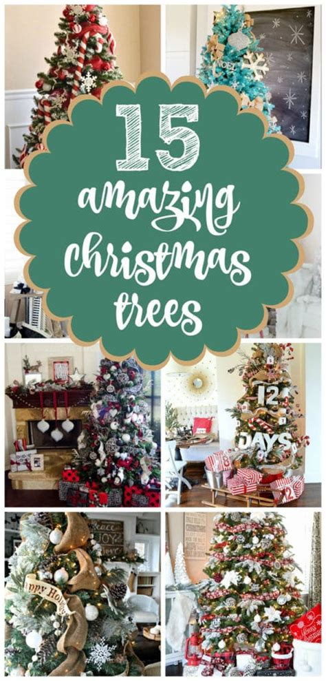 15 amazing christmas tree ideas pretty my party