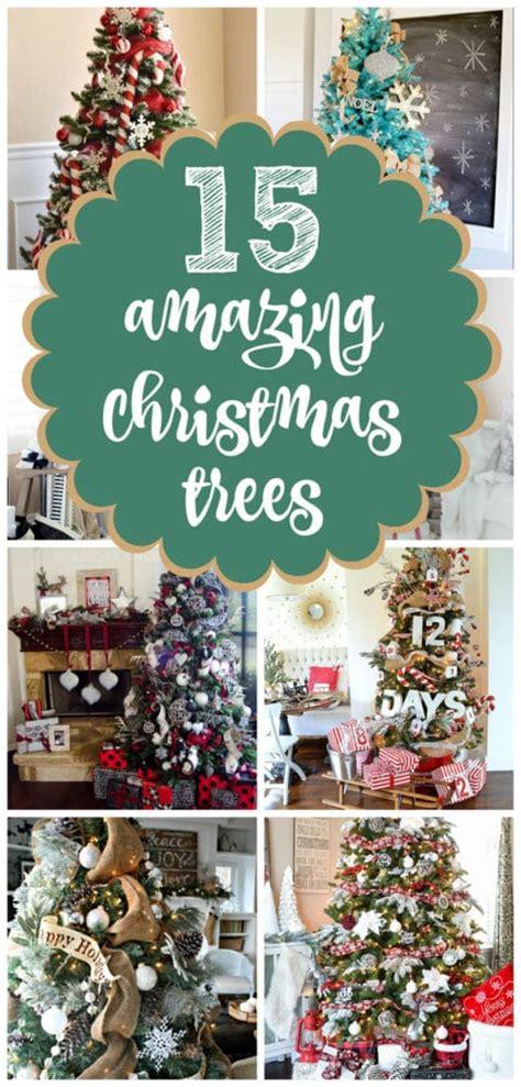 15 amazing christmas tree ideas pretty my party 15 amazing christmas tree ideas pretty my party