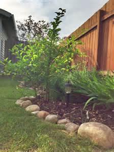 Rocks For Garden Borders River Rock Border For Garden For The Home