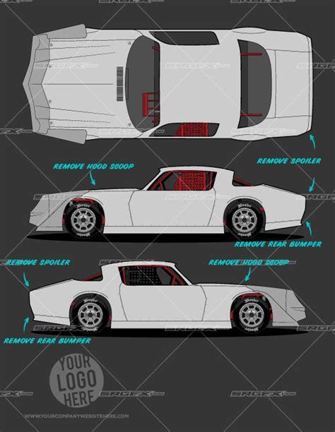 street stock template 2 school of racing graphics