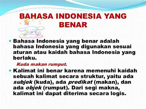 powerpoint ragam bahasa indonesia