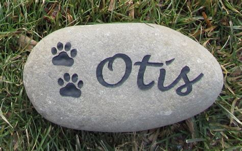 memorial stones for dogs personalized pet memorial for dogs or cats grave