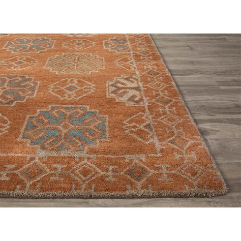 Orange And Blue Area Rug Roselawnlutheran Orange Rug