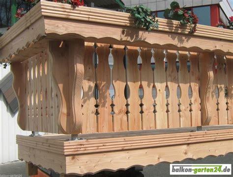 Balkongeländer Holz Einzelteile by Blumenkasten Konsole Fichte Balkon Garten24 De