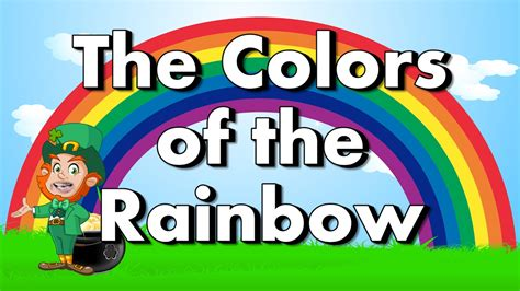 colors of the rainbow lyrics colors of the rainbow color song for st