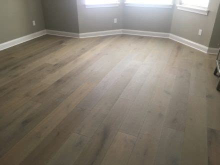 Wire Brushed Oak Hardwood Flooring Install   St. Augustine FL