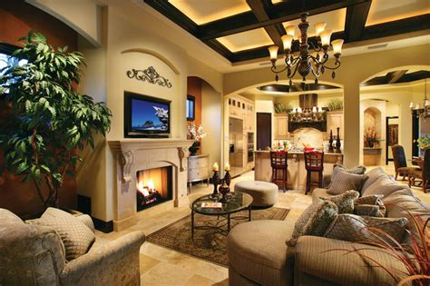 Ferretti House Plan Sater Design Collection S 6786 Quot Ferretti Quot Home Plan Mediterranean Family Room