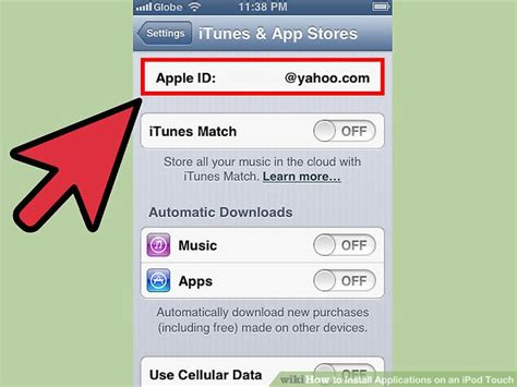 How To Put Itunes Gift Card On Ipod Touch - 3 ways to install applications on an ipod touch wikihow