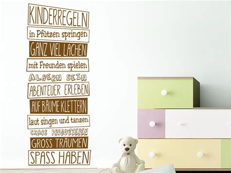flur gestalten kita wandtattoo im kindergarten ideen deko tipps