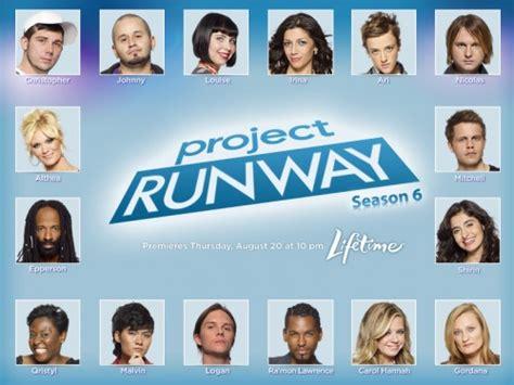 project runway bravo tv official site tattoo design bild project runway season 6 designers revealed