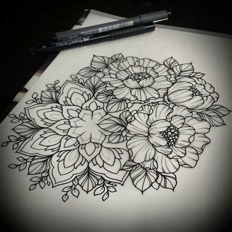 tattoo mandala pinterest die besten 25 flower mandala tattoo ideen auf pinterest