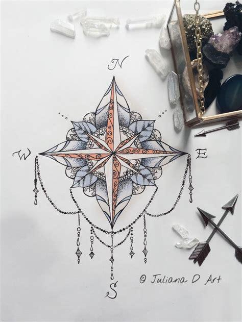 mandala tattoo etsy compass mandala on etsy by jrizzybabbyxoxo https www