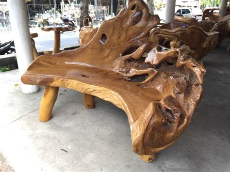 Handcrafted Root - exceptional handcrafted teak root furniture los angeles