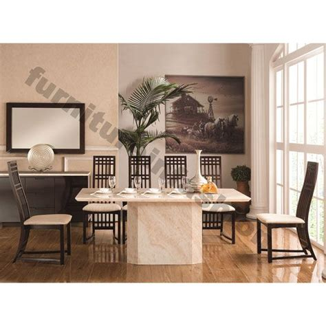 marble table dining room sets 1000 ideas about granite dining table on
