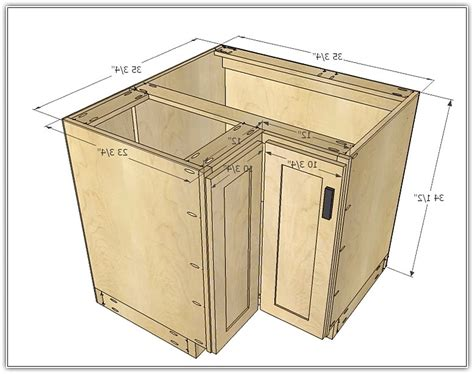 Corner Kitchen Cabinet Sizes Kitchen Base Corner Cabinet Dimensions Mf Cabinets