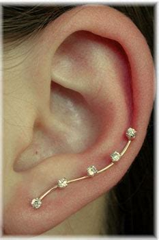 earring that goes up the ear what is a way to get an