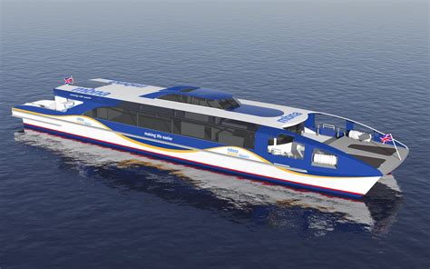 thames clippers managing director largest uk fast ferry shipyard order in over 25 years