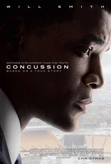 film drama will smith new poster and trailer for will smith s football drama