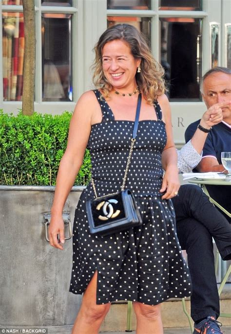Jade Jagger Coming To A Near You by Jade Jagger Rocks Polka Dot Dress In The Sun