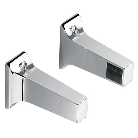 shop moen economy chrome replacement posts only towel bar