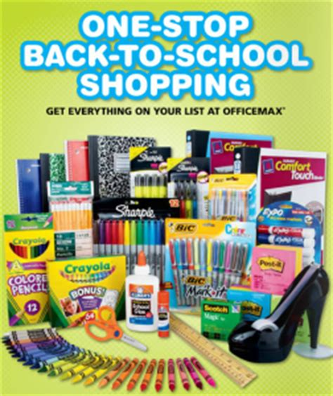 Office Max Boise by Office Max Back To School Deals 7 10 11