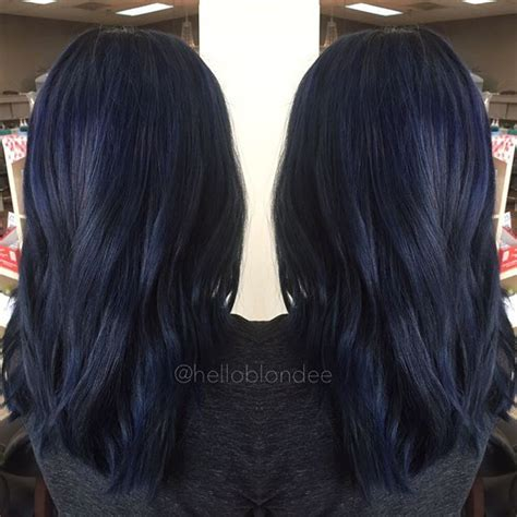 midnight blue hair color 25 midnight blue hair ideas that will inspire your next