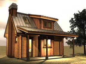 Small Cabins With Loft by Log Cabin In The Woods Small Log Cabin With Loft Plans